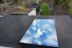 Flat Edge Roof