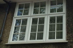 Ada Windows Ltd. Full House installation of double glazing windows and doors in Edmonton, N18 London. Door and windows in PVCu