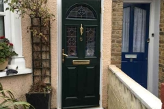Ada Windows Ltd. Double glazing Composite Door installation in Edmonton, N18, North London.  Composite Door and windows.