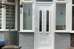 Ada Windows Ltd. Full House installation of double glazing windows and doors in Enfield, EN3, North London. Porch Installation