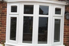 Ada Windows Ltd. uPVC / PVCu white windows installation in Finchley
