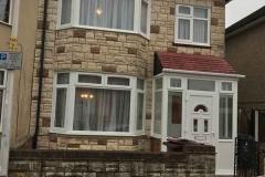 Ada Windows Ltd. Full House installation of double glazing windows and doors in Tottenham, N17 London. Door and windows in PVCu