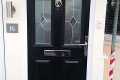 Ada Windows Ltd. Front Composite Door Installation in Hackney, E9, East London.