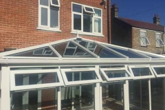 Ada Windows Ltd. Full House installation of double glazing windows and doors in Edmonton, N9, North London. . Conservatory Roof and sides. Windows and doors