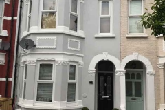 Ada Windows Ltd. uPVC / PVCu white windows installation in Palmers Green, Enfield