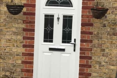 Ada Windows Ltd. Full House installation of double glazing windows and doors in Edmonton, N9, North London. Composite Door Installation