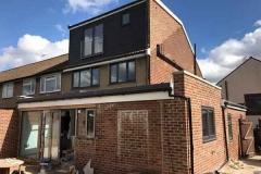 Ada Windows Ltd. Full House installation of double glazing windows and doors in Enfield, EN3, North London. Doors, windows, patio, bifold, composite door.