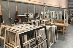 Ada Windows Ltd. uPVC / PVCu double glazing factory in North London