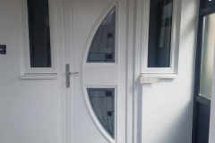Ada Windows Ltd. Double glazing Composite Door installation in Finchley, N12, North London.  Composite Door and window