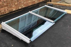Ada Windows Ltd. Flat Skylight installation. Skypod