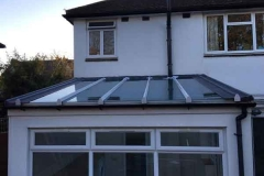 Ada Windows Ltd. Lean-to conservatory roof installation double glazed in Finchley, N12, North London. . Conservatory Roof lean to